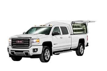 Front view of the Wild on a GMC with side door open