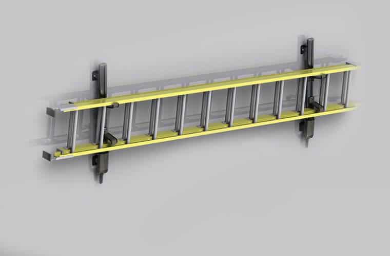 Techno-Fab Techno Space ladder holder