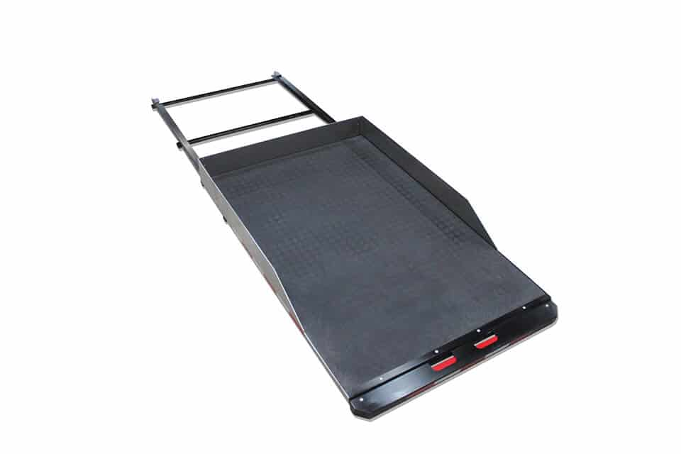 Single Sliding Tray Accessory - Extended